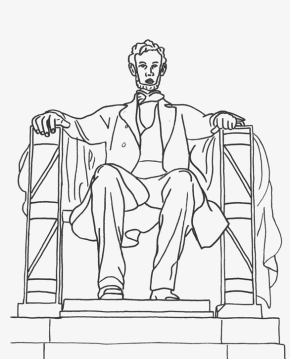abraham-lincoln-coloring-page