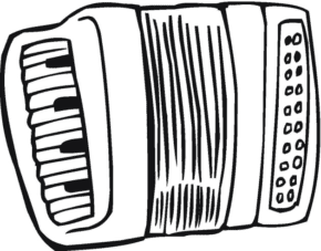 accordion-coloring-page