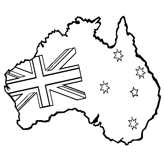Australia Coloring Page Amp Coloring Book