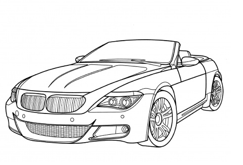 bmw-m6-coloring-page