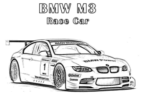 bmw-race-car-coloring-page