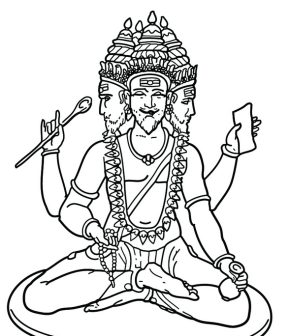 brahma-coloring-page