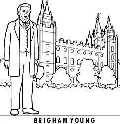 brigham-young-coloring-page
