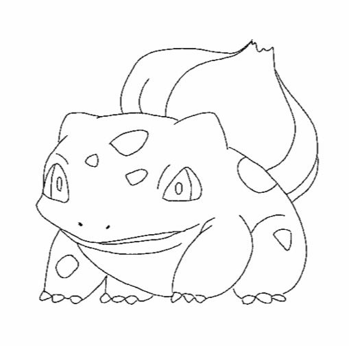 pokemon bulbasaur coloring pages coloring pages Pokemon Squirtle Coloring Pages  Bulbasaur Pokemon Coloring Pages