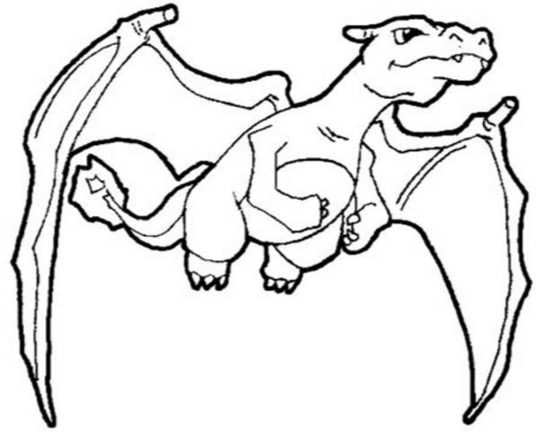 free coloring pages of pokemon pokemon charizard