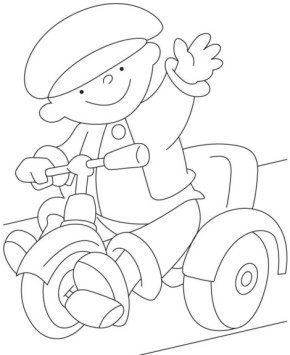 child-tricycle-coloring-page