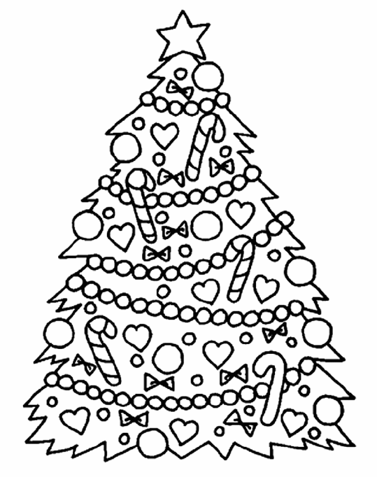 Christmas Tree & Coloring Book