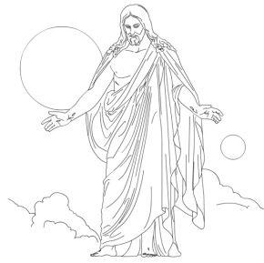 christus-coloring-page