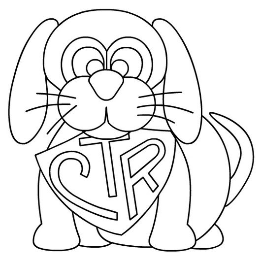 CTR Coloring Page
