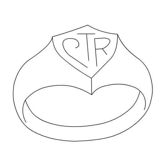 CTR Ring Coloring Page Coloring Book