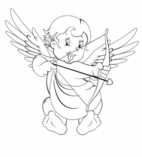 cupid-coloring