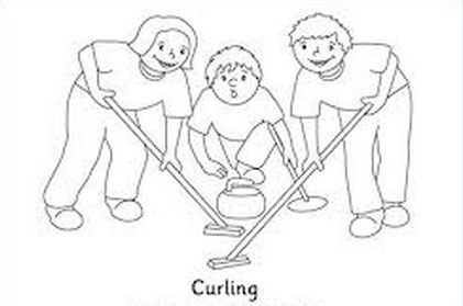 curling-coloring-page