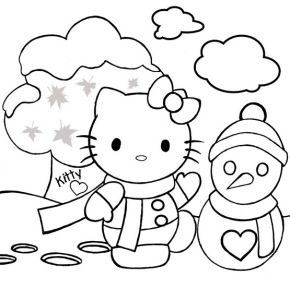 december-hello-kitty-coloring-page