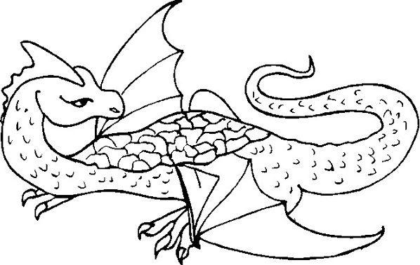 Dragon City Coloring Pages: Dragon Dinosaur Coloring Page & Coloring Book