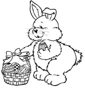 easter-bunny-basket-coloring-pages