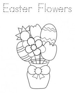 easter-flowers-coloring-page