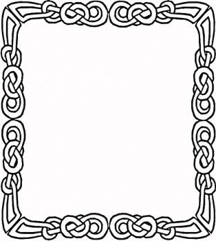 Printable Family Picture Frame Coloring Page