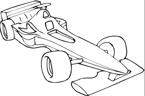 formula-one-car-coloring-page