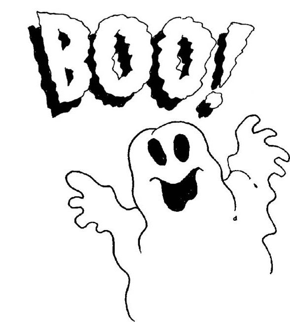 Ghost Halloween Coloring Page Amp Coloring Book