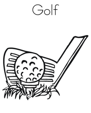 golf_coloring_page