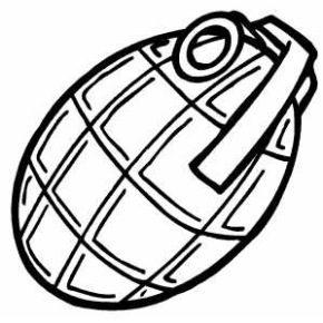 grenade-coloring-page
