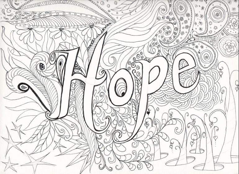 hard coloring page - Hard Coloring Pages