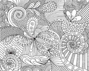 related coloring pages - Hard Coloring Pages