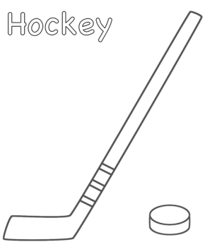 hockey-coloring-page