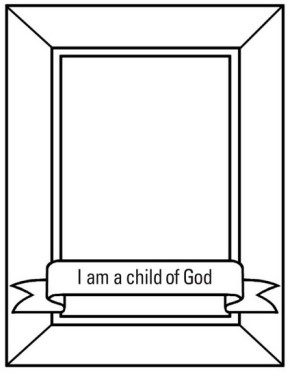 sunbeams lds coloring page i am a child of god page - A Child God Coloring Page