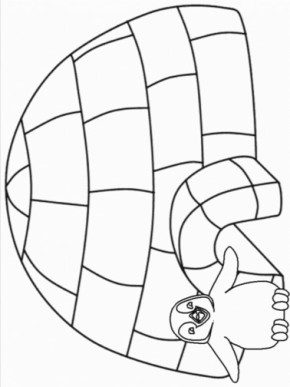 igloo-coloring-page