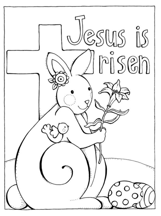 easter sunday coloring pages - photo#9