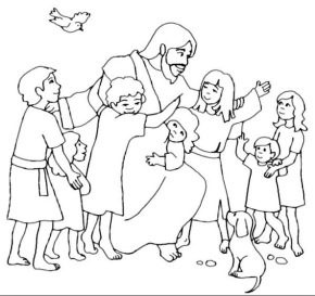 Jesus Loves Me Coloring Page Coloring Book