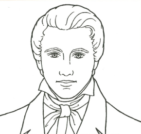 prophet joseph smith coloring page president thomas s monson coloring page