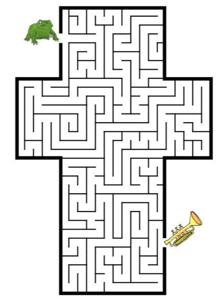 Maze Coloring Pages - Auromas.com
