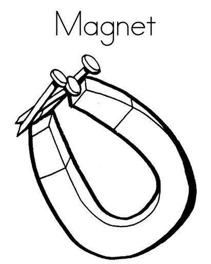 magnet coloring page screwdriver coloring