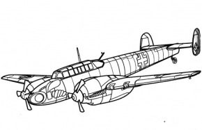 military-bomber-coloring-page