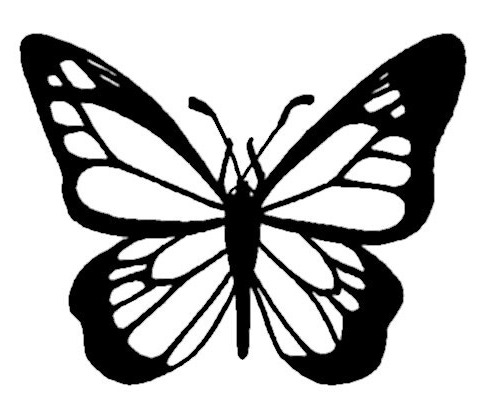 Monarch Butterfly Coloring Page & Coloring Book