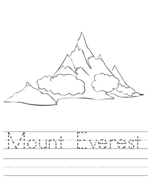 mount-everest-coloring-page