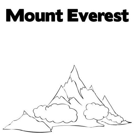mt-everest-coloring-page