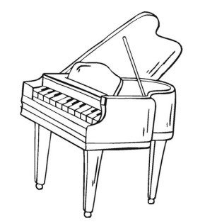 piano-coloring-page