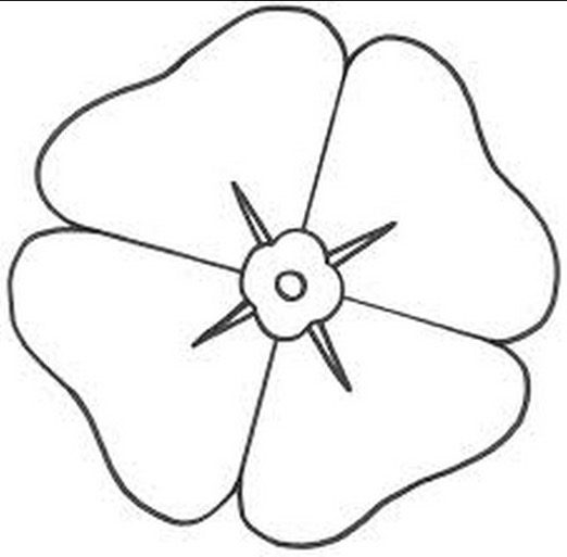 Poppy coloring page coloring book for Poppy coloring page