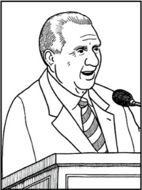 president thomas s monson coloring page