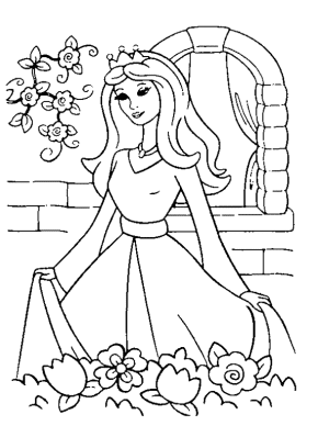 princess-5-coloring-page