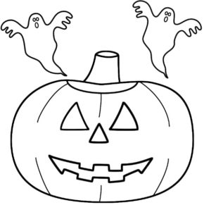 pumpkin-ghosts-halloween-coloring-page