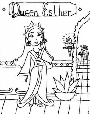 fireworks coloring page queen esther coloringpage