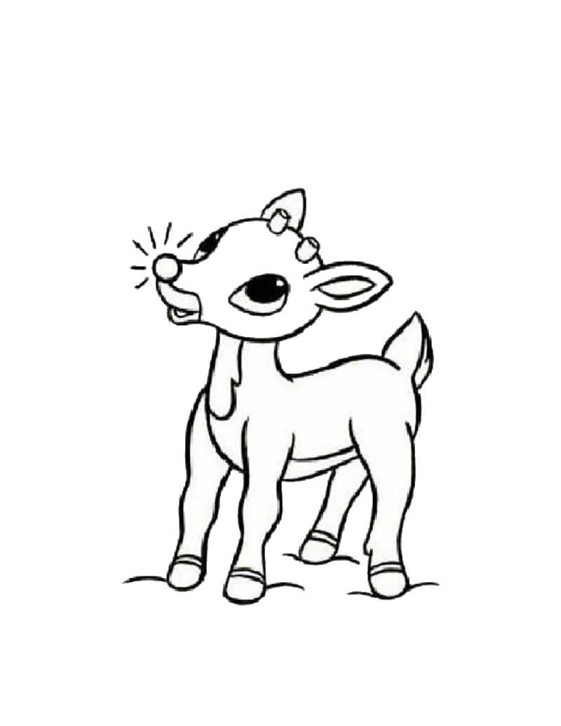 rudolph-coloring-page