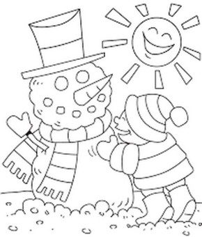 snowman-winter-coloring-page