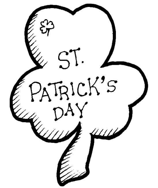 St Patricks Day Coloring Page Coloring Book