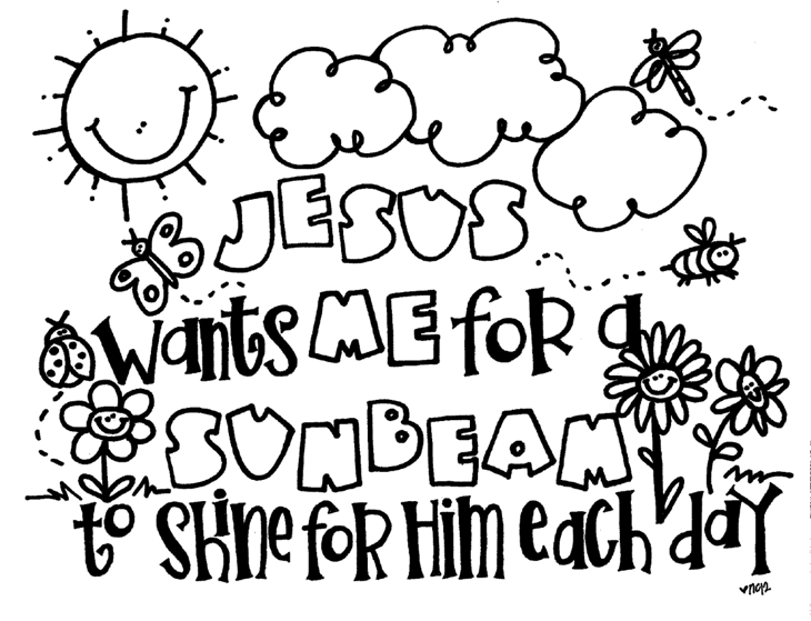 sunbeam-coloring-page