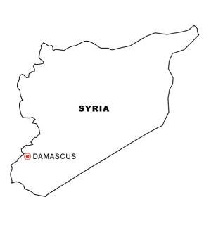 syria-map-coloring-page